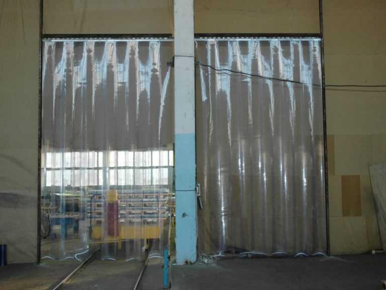 Завесы ПВХ для склада