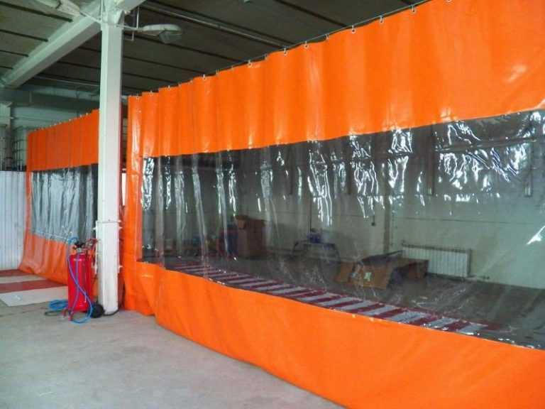 Промышленные шторы ПВХ