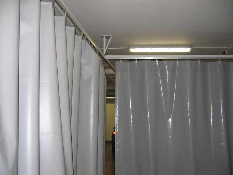 Сдвижные шторы ПВХ