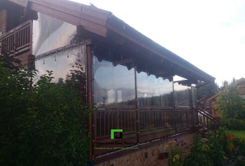 Гибкие окна на террасу