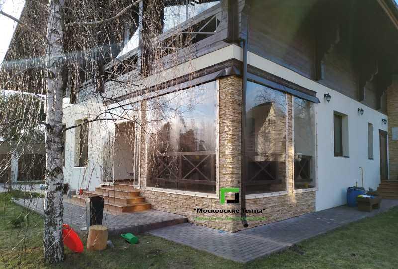 Мягкие окна для веранды